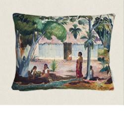 housse coussin outdoor Gauguin 45x35