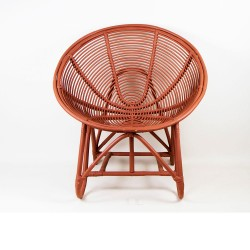 Egg chair tomette