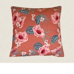 housse outdoor 45x45 Hibiscus Rosa