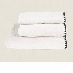drap de bain 90x140 Issey blanc