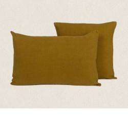 housse lin 45x45 Propriano bronze