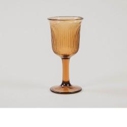 verre à pied Jules Ambre