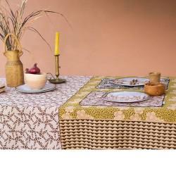 chemin de table anako bronze