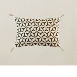 coussin 20x30 Stars carbone