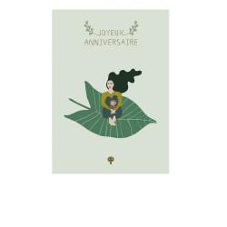 carte postale joyeux