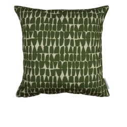 coussin galets bronze 45x45