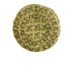coussin rond garni clover anis